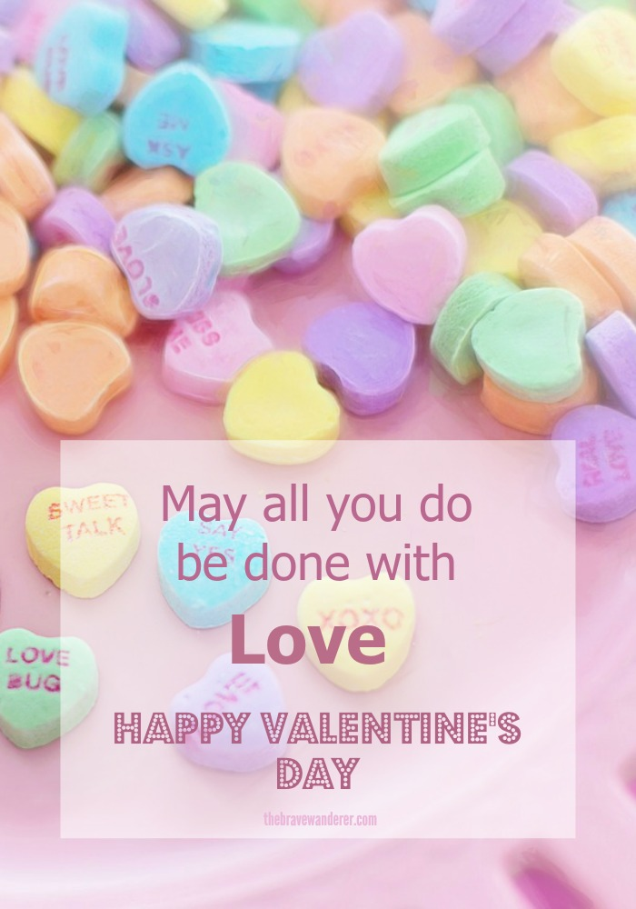 Wishing you all a love-filled Valentine's Day!