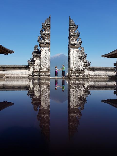 Porta del Lempuyang temple-Bali