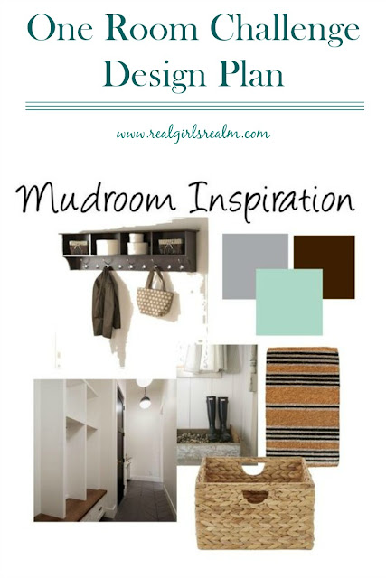 See how I transformed my mudroom in 6 weeks with the One Room Challenge!