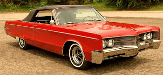 1967 Chrysler 300 Convertible Front Right