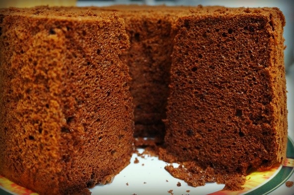 Chocolate Chiffon Cake For Passover Gluten Free