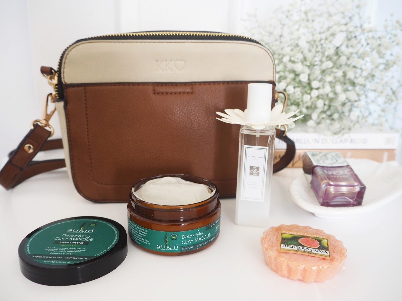 Loves List June, Katie Kirk Loves, UK Blogger, Lifestyle Blogger, Beauty Blogger, Skincare Blogger, Beauty Review, Sukin Skincare, Yankee Candle, Jo Malone, Latest In Beauty, Nails Inc, Camera Bag, Fashion Blogger, Blogger Review