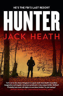 Hunter by Jack Heath cover