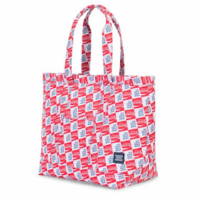 Herschel Supply Co red white and blue tote