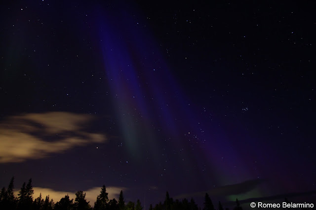 Northern Lights Photograph with DSLR