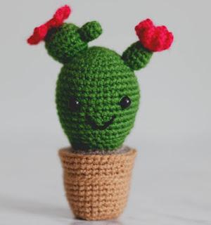 cosicasraquel: Cactus de Crochet - Tres Patrones Gratuitos !!! | 320x300