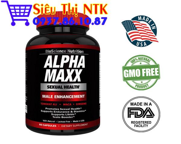 Alpha Maxx 60 viên USA