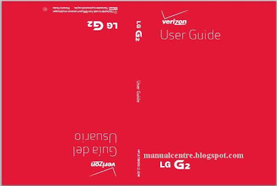 LG G2 Manual Cover