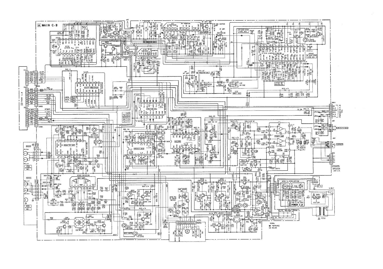 AIWA CA DW620  SCHEMATIC DIAGRAMS | Electro help