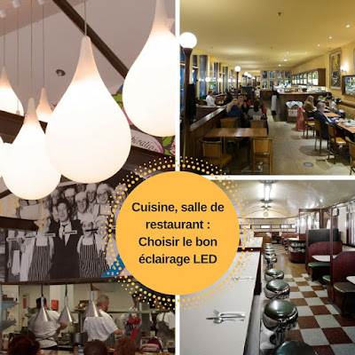 éclairage led restaurant
