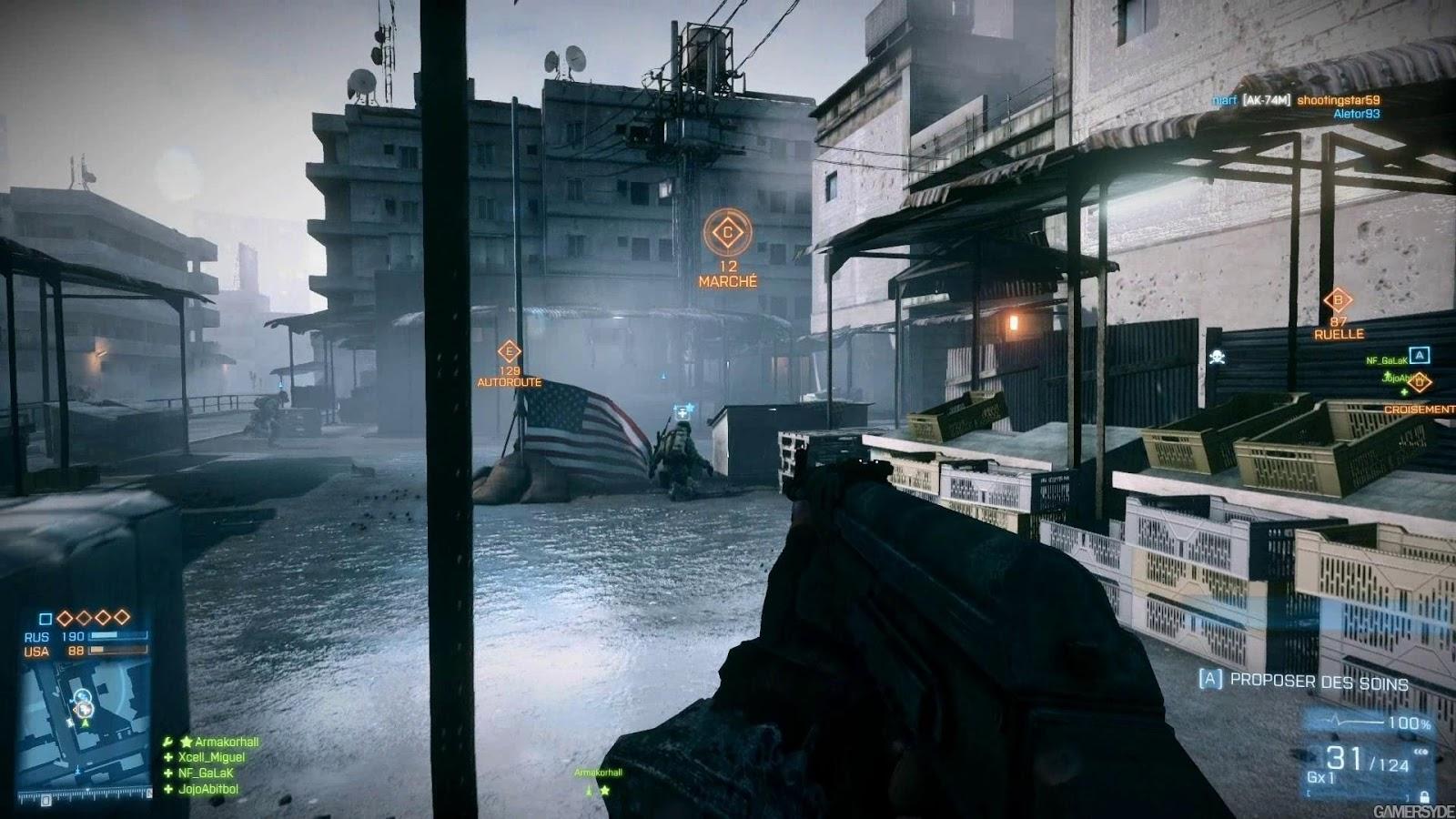 Mapa Grand Bazaar estará de volta em Battlefield Hardline