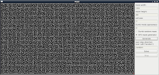 Я разрешаю   : Simple maze solver with python and pyside