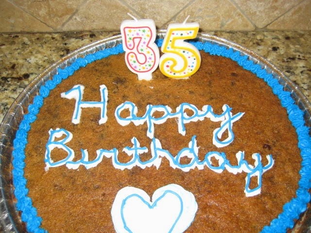 Easy Do It Yourself 3 Ingredient Cookie Cake The