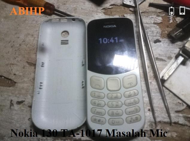 Solusi mengatasi Nokia 130 yang suara tidak didengar lawan bicara.
