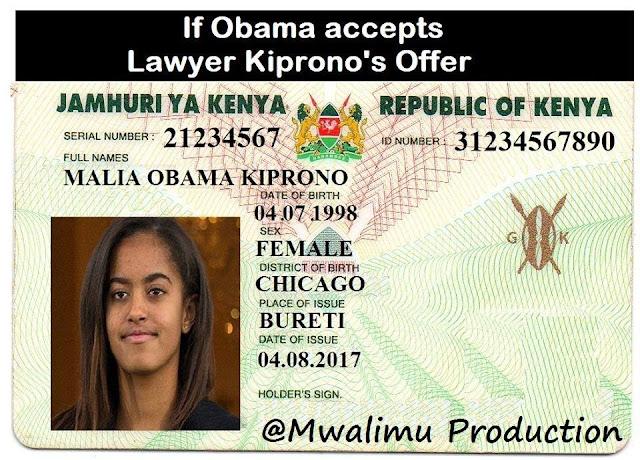 Kenya Daily Eye: Absolutely Hilarious! Malia Obama Gets