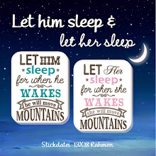 Let him/Let her sleep...
