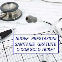 elenco aggiornato delle prestazioni sanitarie gratuite per i Livelli essenziali di assistenza (Lea)