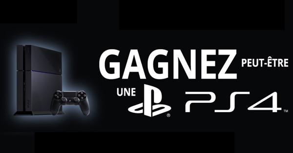 Jeu Concours 100 consoles Sony PS4 500Go à gagner