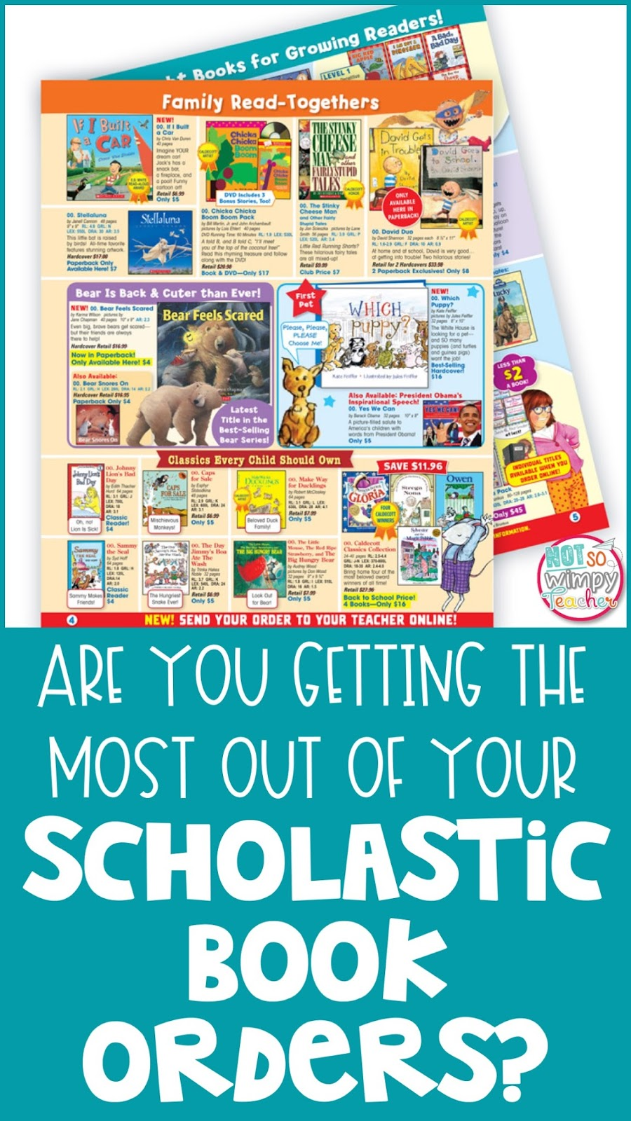 Are you getting the most out of your Scholastic book order? | Diary