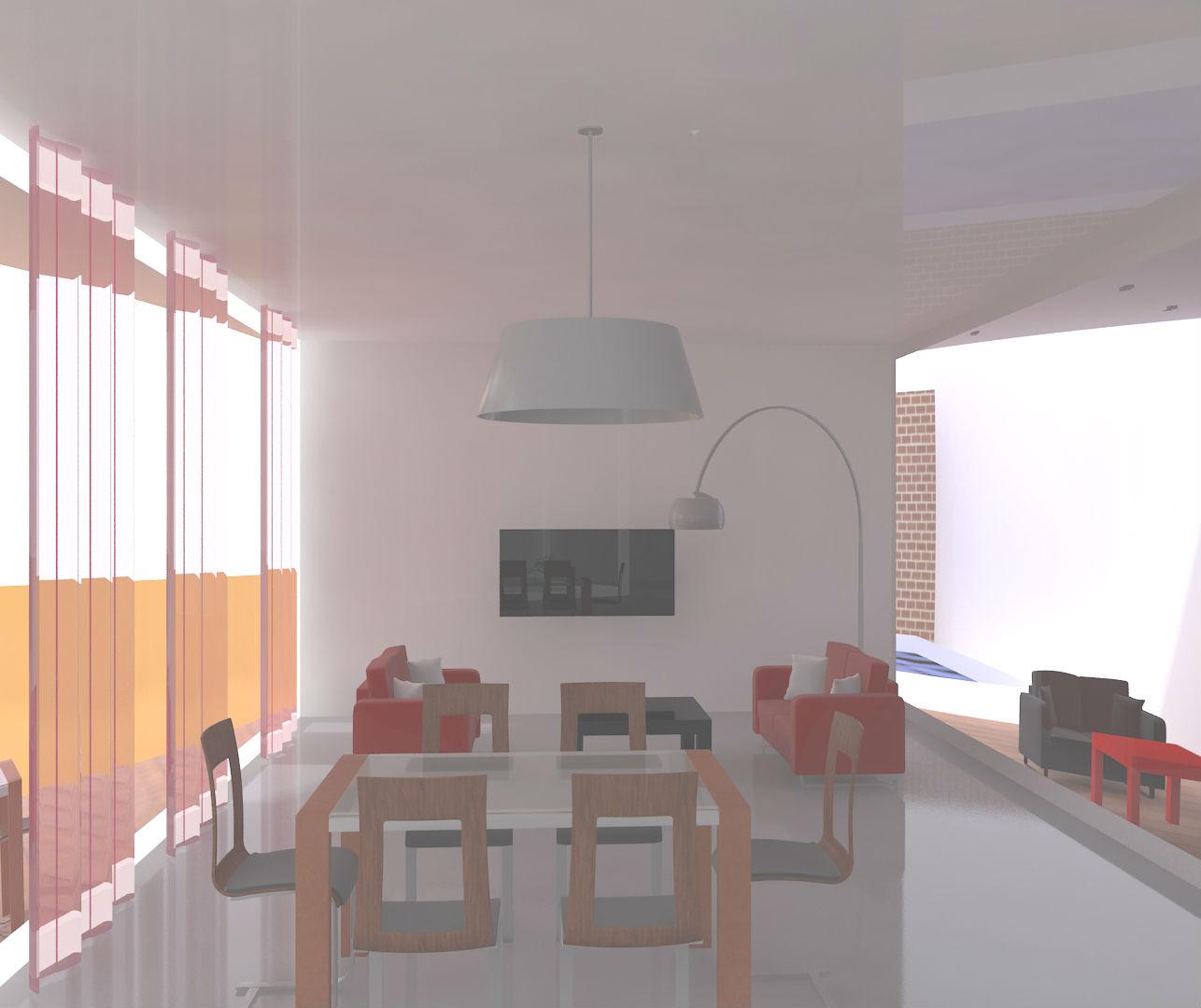 Proyectosarquitecturasevilla casa bioclim tica minimalista for Casa minimalista concepto