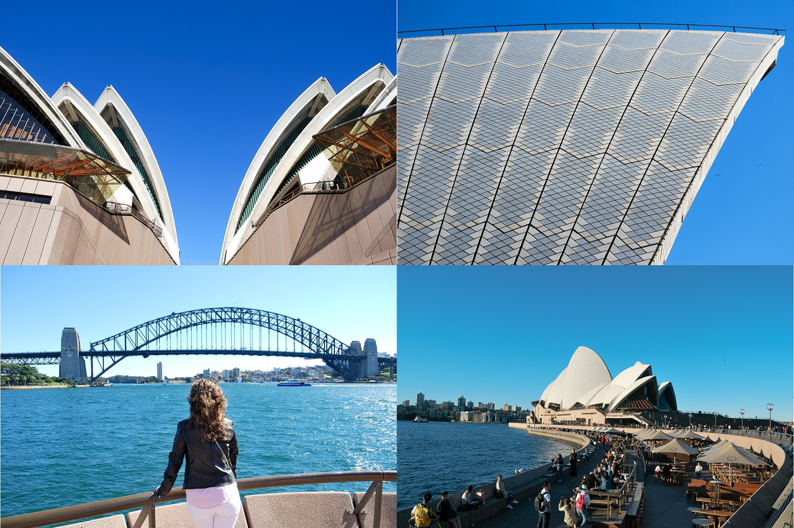 harbour bridge opera house sydney