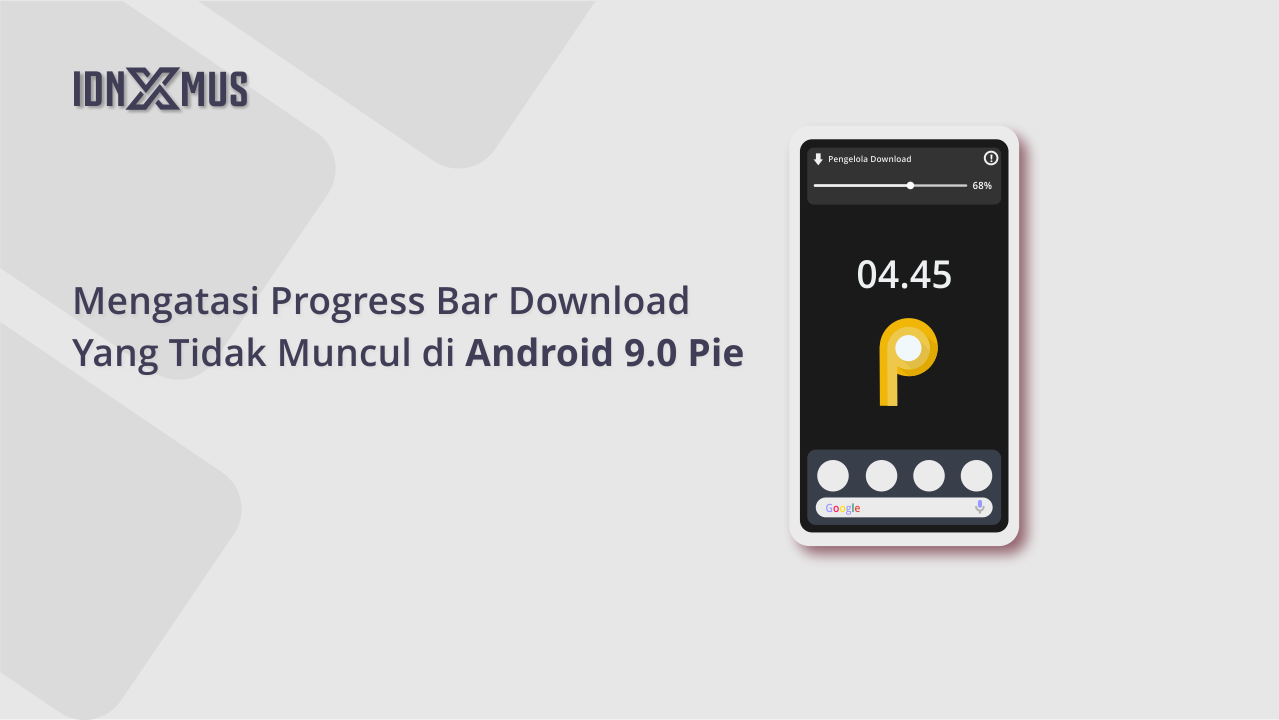 Progress Bar Download Tidak Muncul