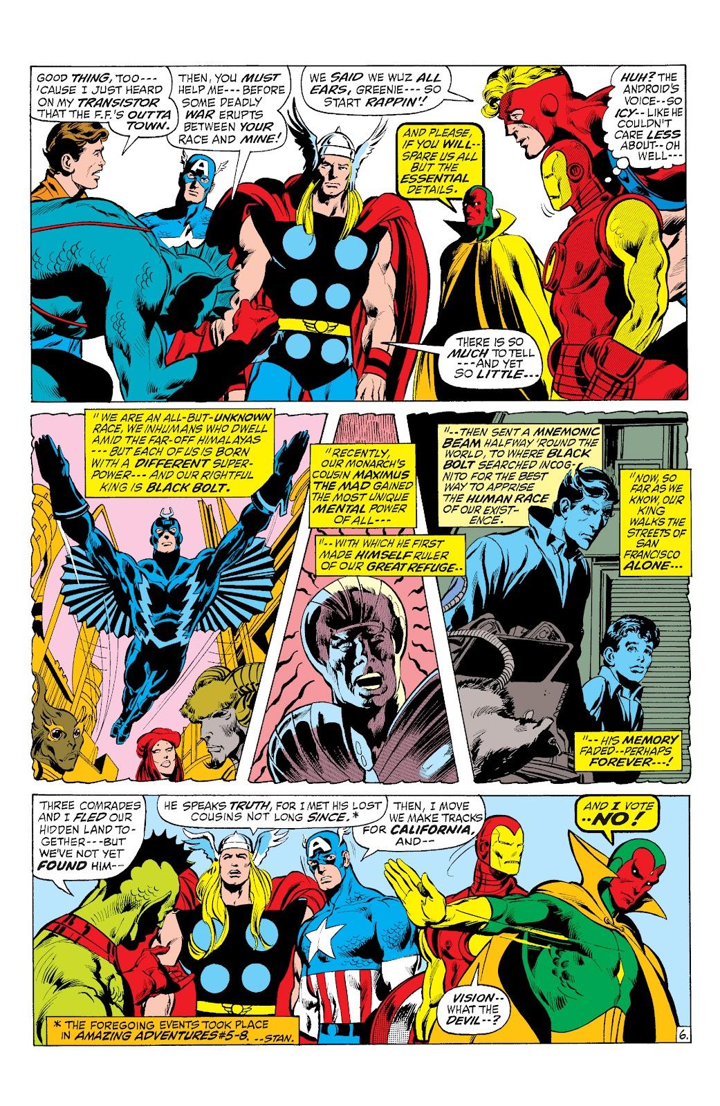 Read online Marvel Masterworks: The Inhumans comic -  Issue # TPB 1 (Part 3) - 1