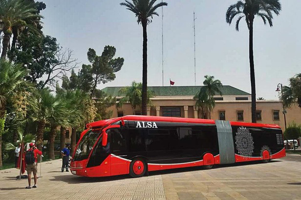 Marrakech va se doter de bus électrique.