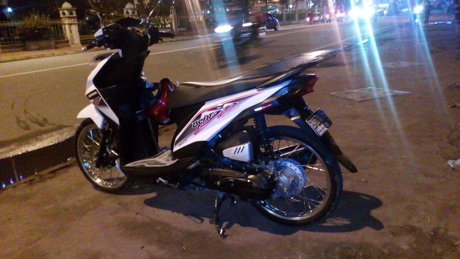 Koleksi 100 Modifikasi Honda Beat Injeksi Putih Terupdate Joung Motor