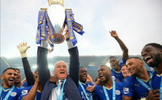 Leicester city 2015/16 champions