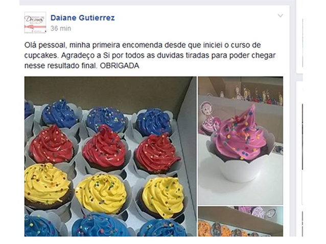 Receita de cupcake para vender