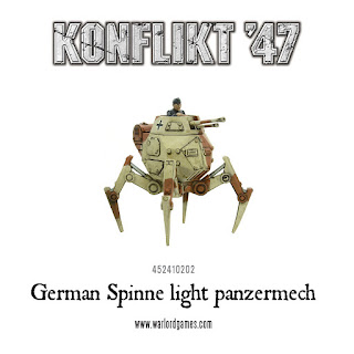 Konflikt 47 -German Spinne Panzermech