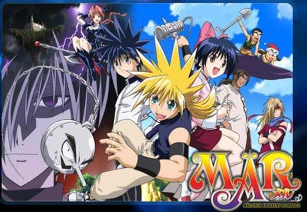 MÄR - Anime Action Fantasy Terbaik dan Terseru