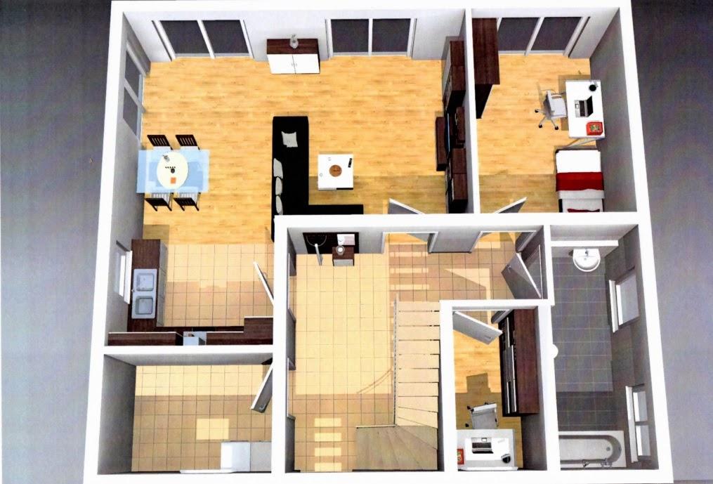 martin und natascha bauen ein haus unser traumhaus grundriss und aussenansicht. Black Bedroom Furniture Sets. Home Design Ideas