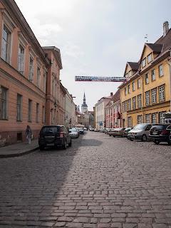 Улица Пикк. Таллинн