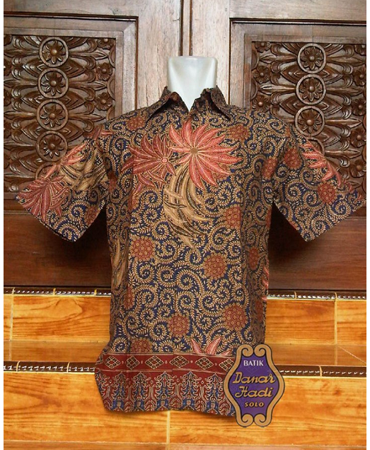 Harga Baju Batik Pria Danar Hadi: Model Baju Kerja Batik Danar Hadi Dari Solo