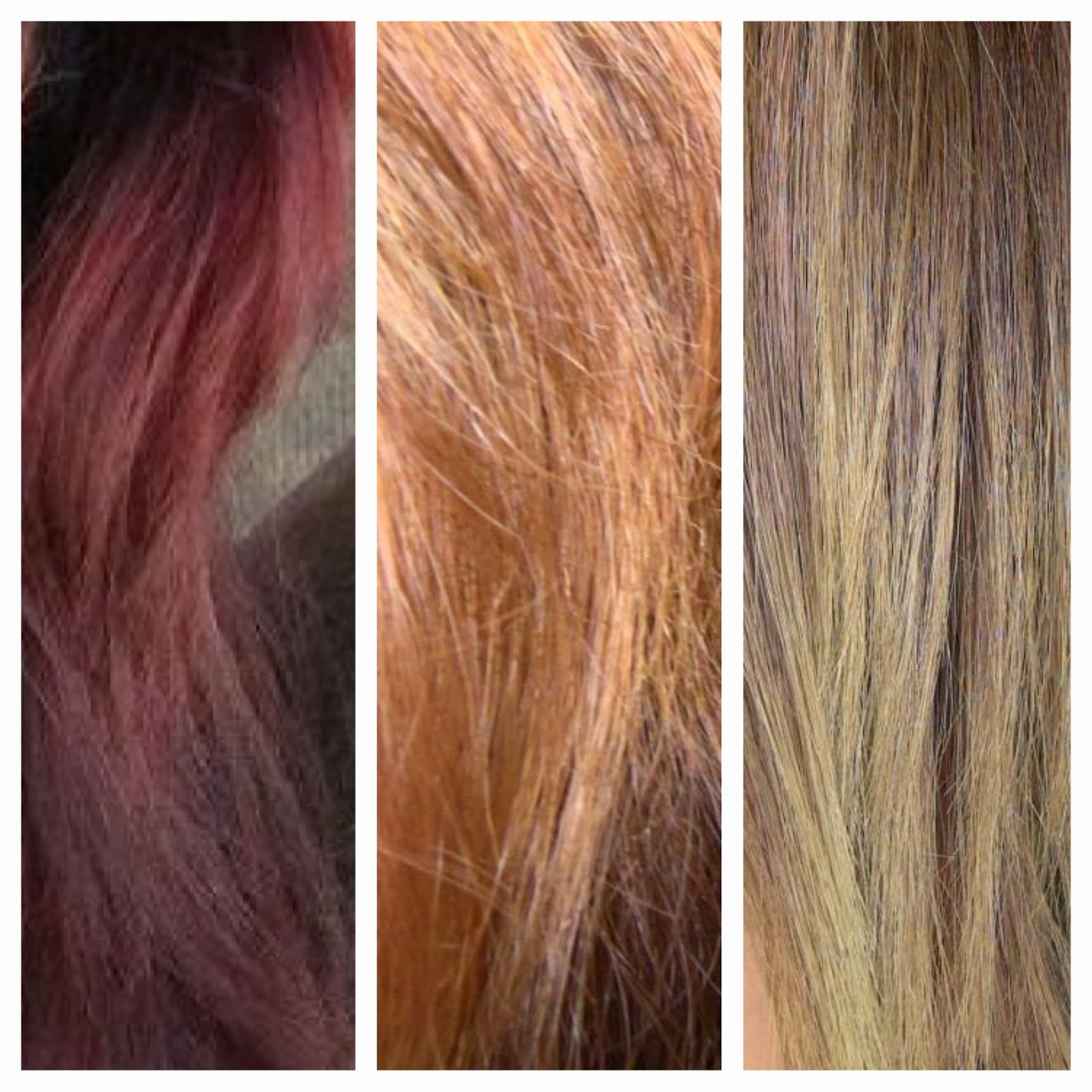 - the invisible lemongrass -: my hair journey: red to ...