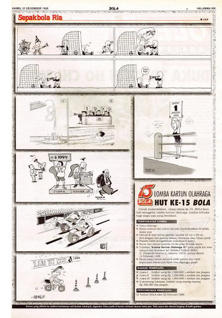 Sepakbola Ria EDISI NO. 865 / KAMIS, 31 DESEMBER 1998