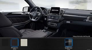 Nội thất Mercedes AMG GLS 63 4MATIC 2017 màu Nâu Espresso 534