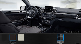 Nội thất Mercedes AMG GLS 63 4MATIC 2019 màu Nâu Espresso 534