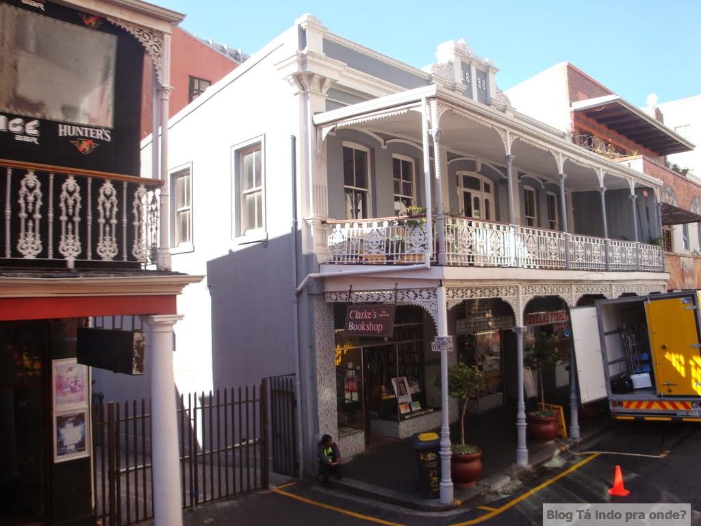 andando de ônibus hop-on, hop-off na Cidade do Cabo