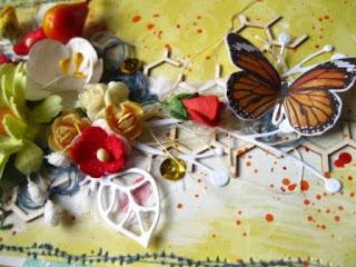 скрап,открытка,поздравление,цветы,строчка,акрил,бабочка,чипборд,пайетки
