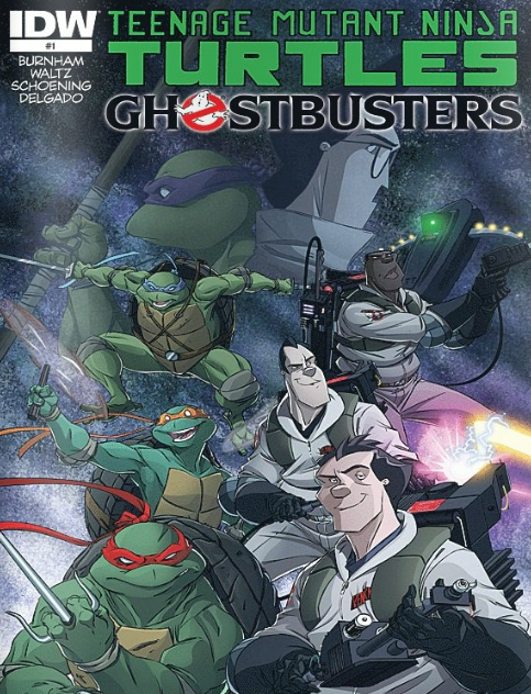 Teenage Mutant Ninja Turtles - Ghostbusters - 1 of 4