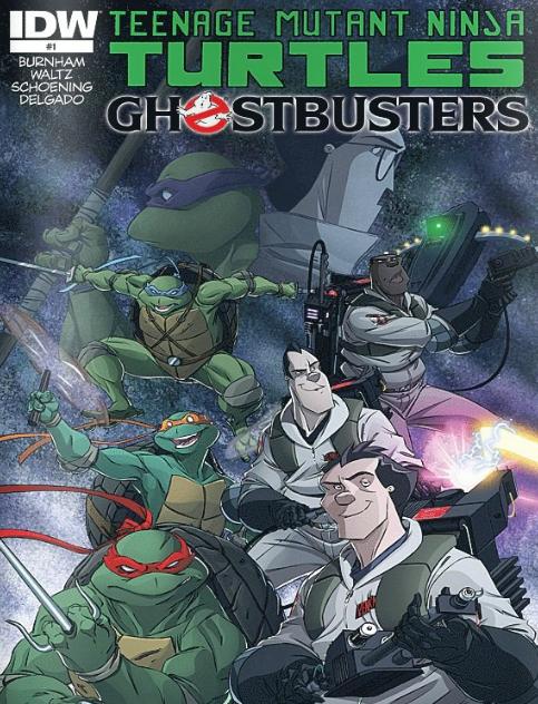 Teenage Mutant Ninja Turtles - Ghostbusters - 1 of 4