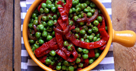 Gluten Free Vegan Stir Fried Peas & Peppers