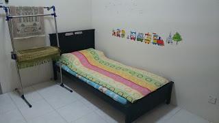 Bilik Tidur ke 3 di Raisya Homestay Putrajaya
