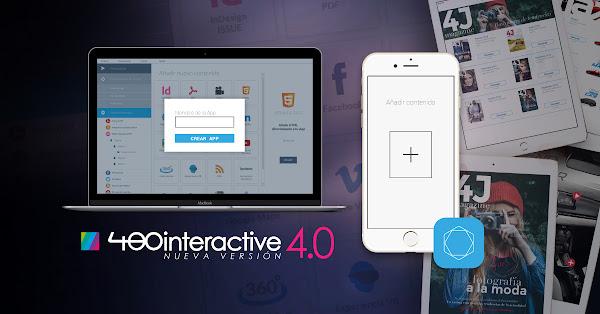 480interactive, una herramienta para Crear Apps para tu Empresa sin saber programar