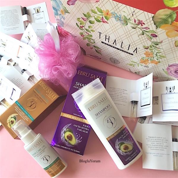 thalia natural ebru şallı by thalia yağlı saçlar için avokado özlü şampuan ebru şallı by thalia durulama gerektirmeyen saç bakım yağı ve parfümler
