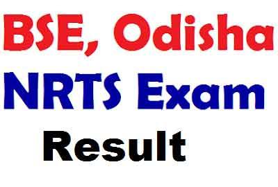 Odisha NRTS Result 2019