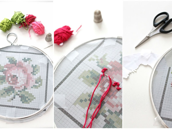 DIY Insoliti ... ricami a punto croce/ DIY Unusual... cross stitch embroidery
